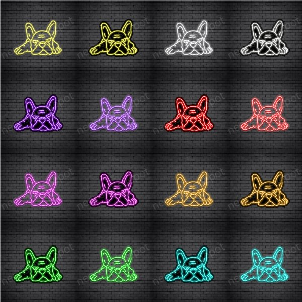 Bulldog V3 Neon Sign