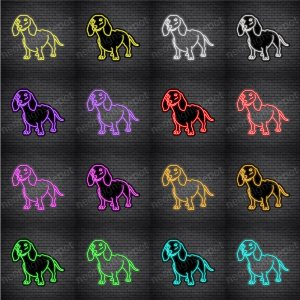 Dachshund Dog V3 Neon Sign