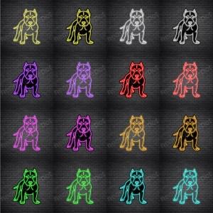 Pit Bull V4 Neon Sign