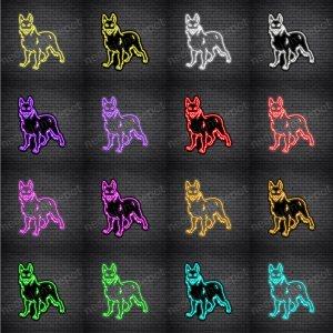 German Shepherd Dog V1 Neon Sign