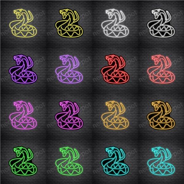 Snake V4 Neon Sign