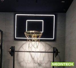 баскетболен кош от неон