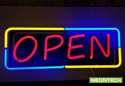 open-неонова реклама