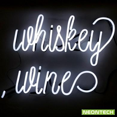 whisky neon