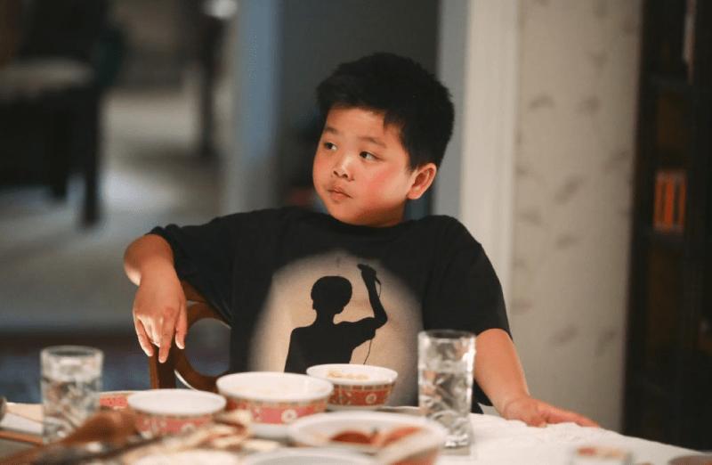 Hudson Yang as young Eddie Huang. (@FreshOffABC/Twitter)