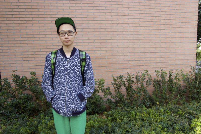 Jian Jun Li, architecture student. (Belinda Cai/Neon Tommy)