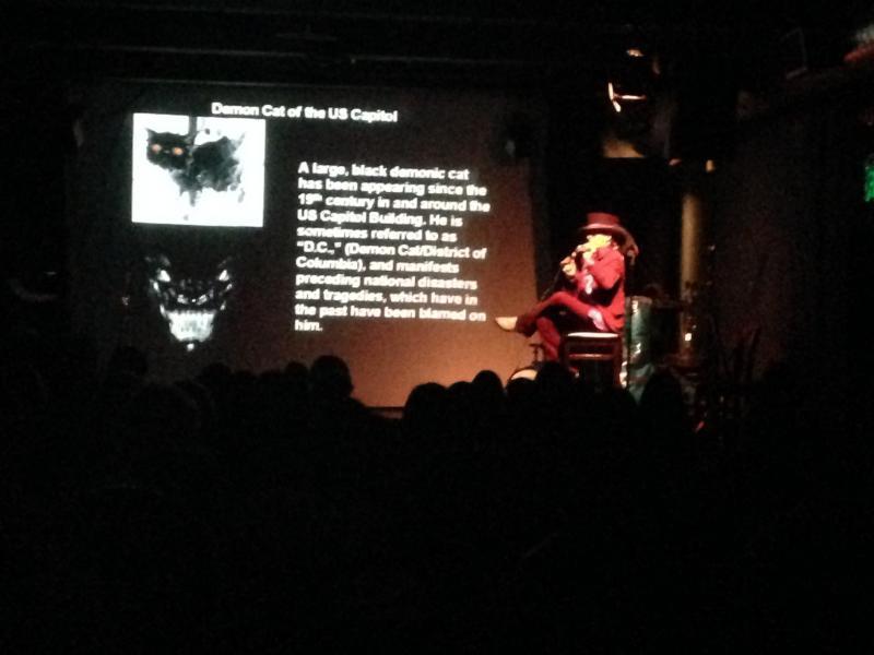 Art historian Dr. Paul Koudounaris. (Belinda Cai/Neon Tommy)