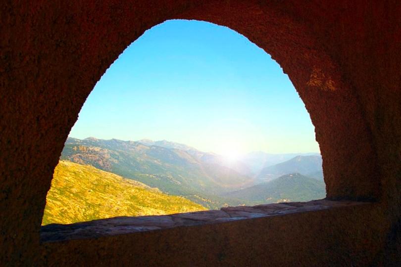 Desde la ventana del Monasterio