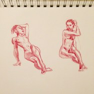 daily gesture drawing 2015-02-10