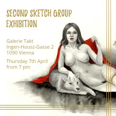 Art for the sketch group exhibition