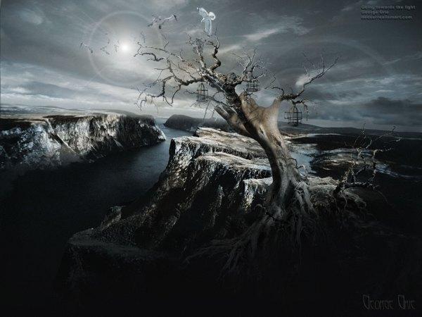 Dark Mystical Surreal Art