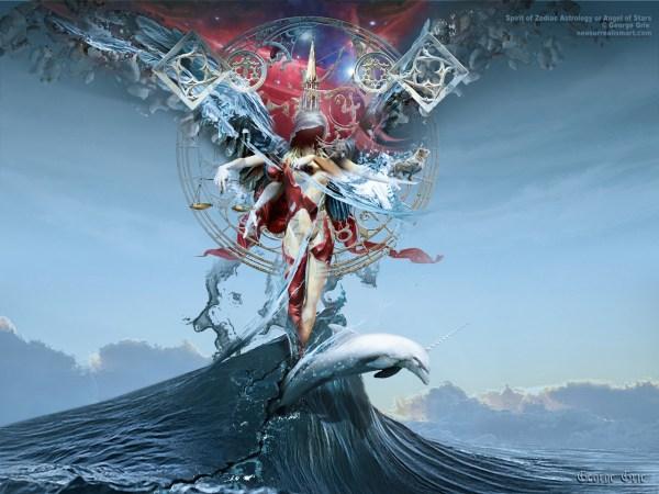 Beautiful Surreal Art Wallpaper Woman