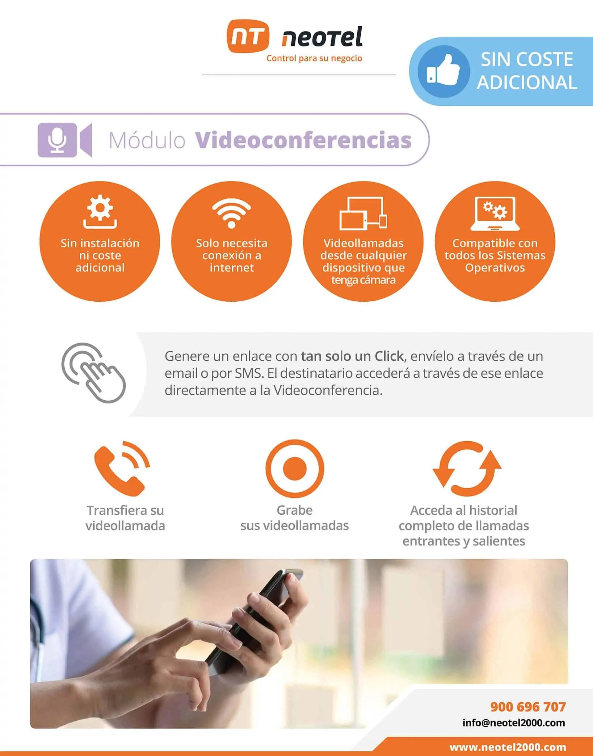 chat videollamada videoconferencia en la nube