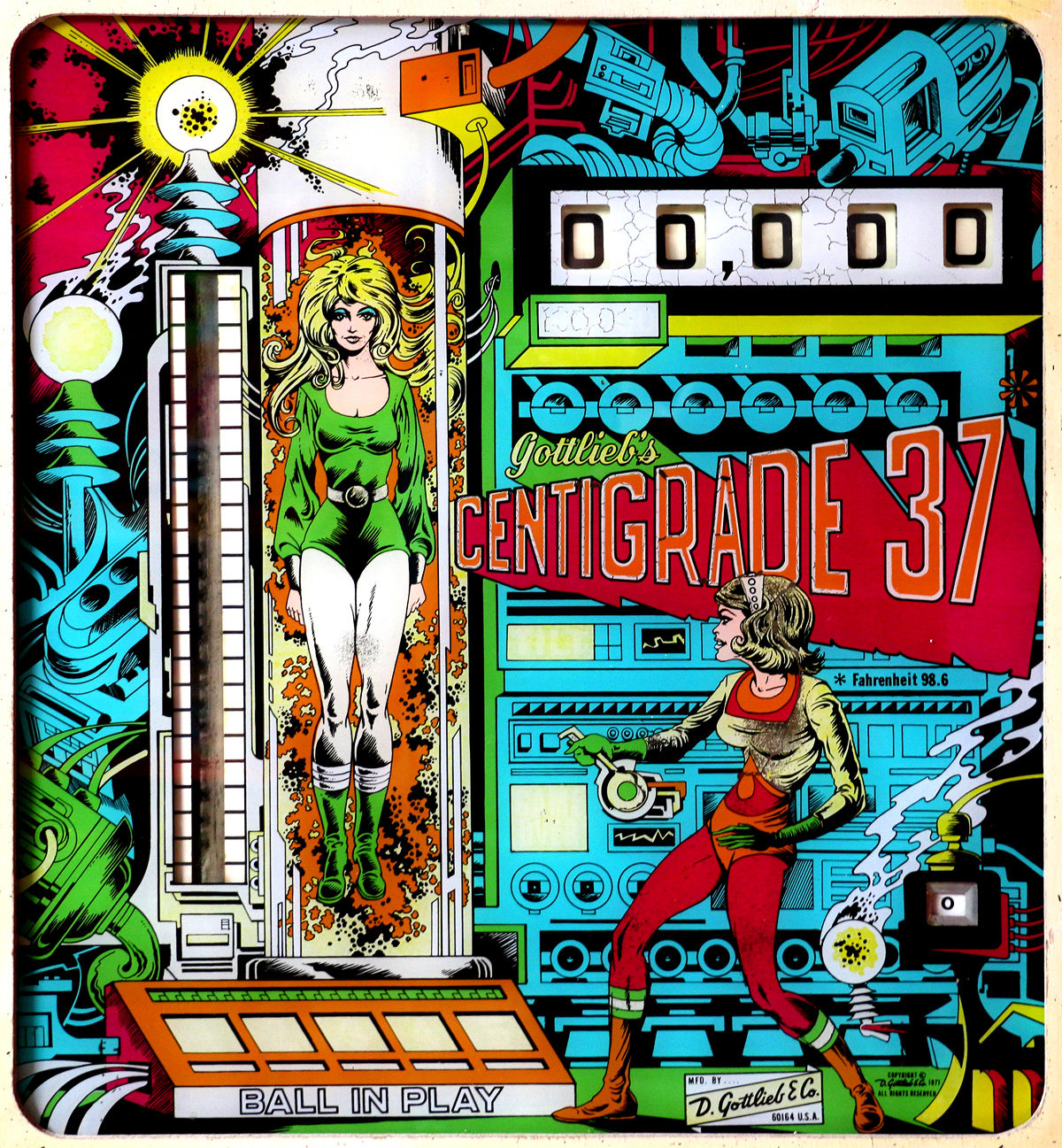 Centigrade 37 - Gottlieb - 1977 - NeoTeo