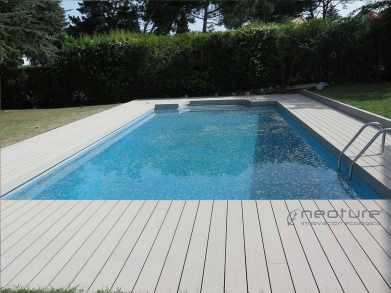 tarima composite piscina sand