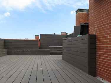 tarima madera sintética exterior revestimiento terrazas