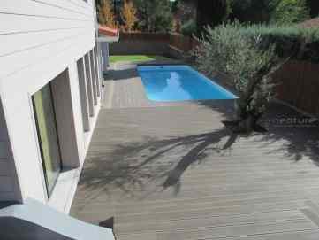 tarima terraza piscina exterior