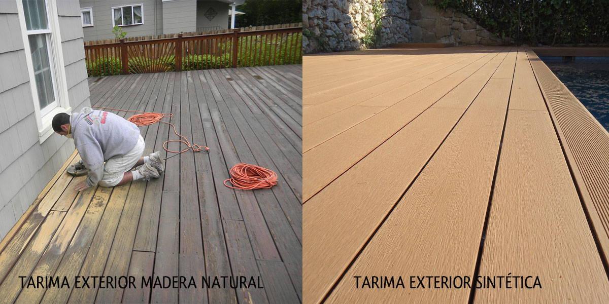 Baldosas exterior baratas celosias tratadas exterior with - Suelo madera exterior barato ...