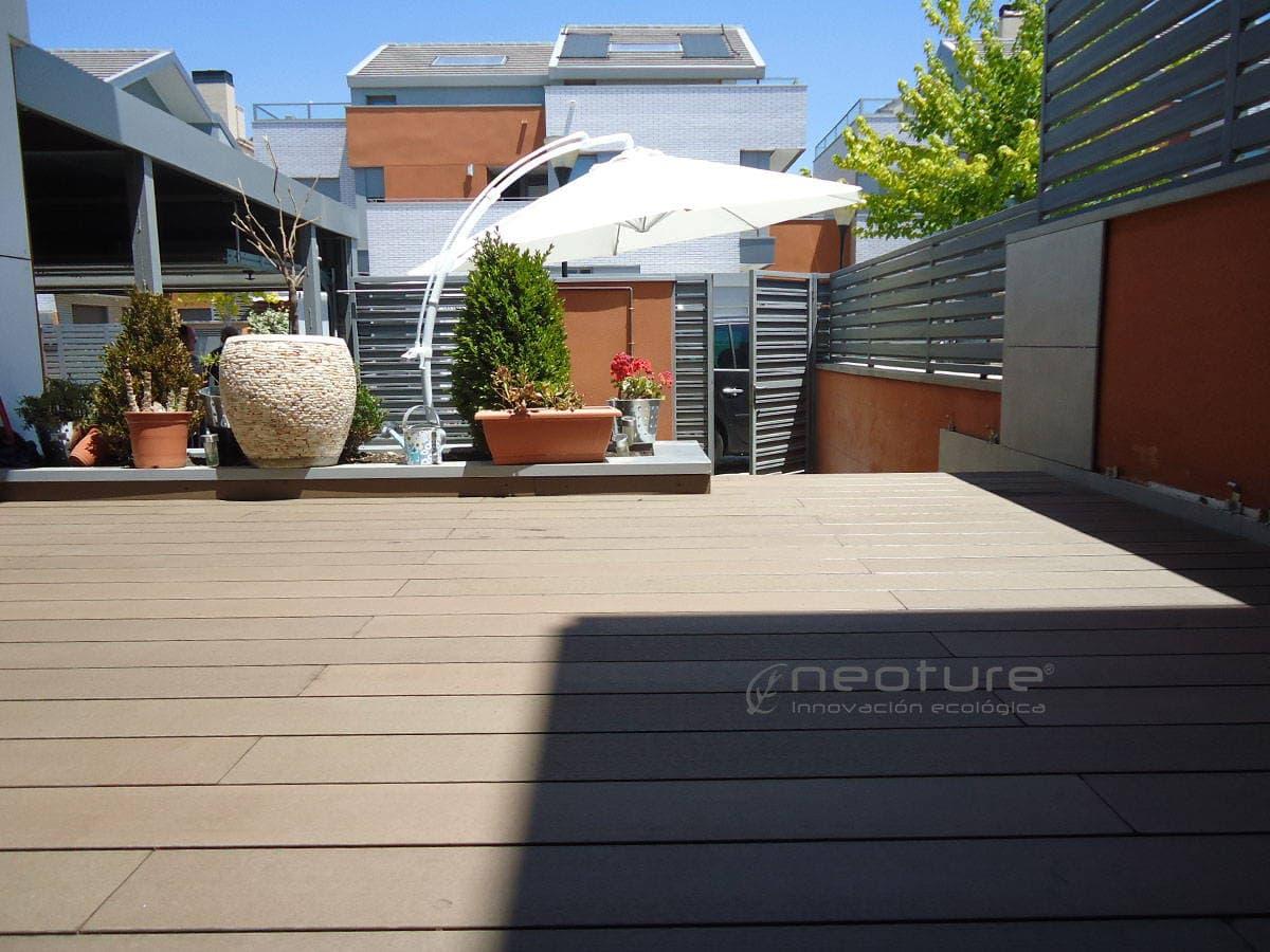 suelo exterior tecnico entrada terraza adosado