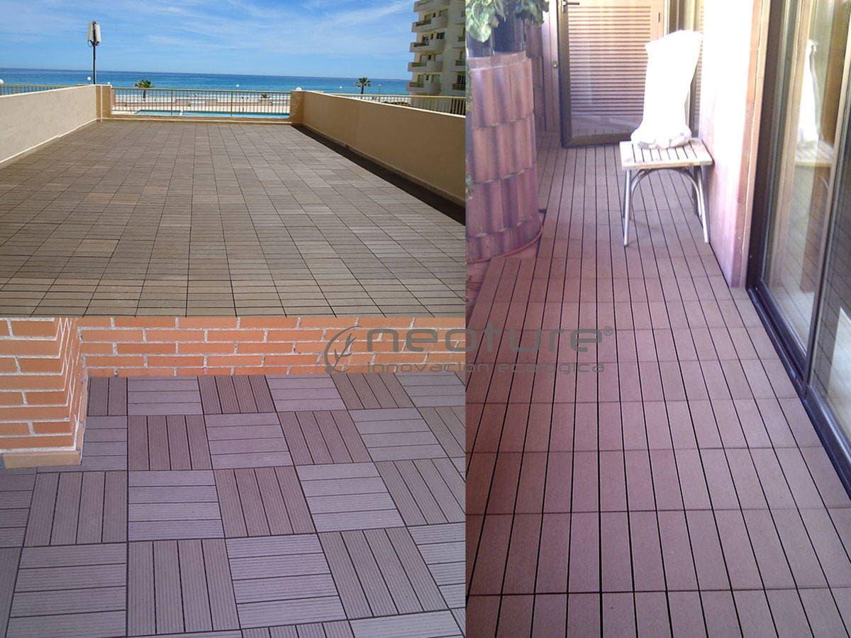 baldosa composite terraza