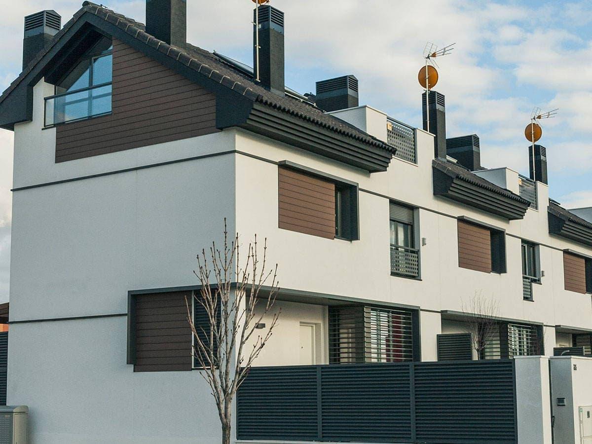 Paneles de madera para exterior best excelente paneles de - Paneles decorativos exterior ...