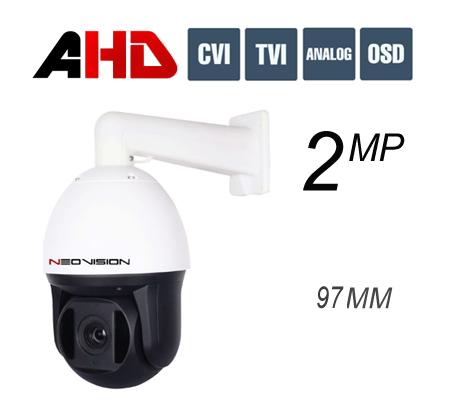 מצלמת אבטחה ממונעת PTZ AHD 2MP