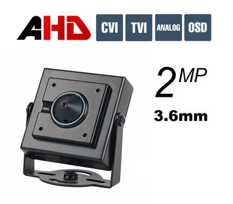 מצלמת נסתרת ראש סיכה AHD 2MP