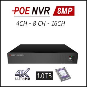 מכשירי הקלטה POE 4K