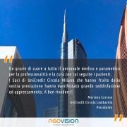 Apprezzamento di Unicredit Circolo Milano - Neovision Cliniche Oculistiche
