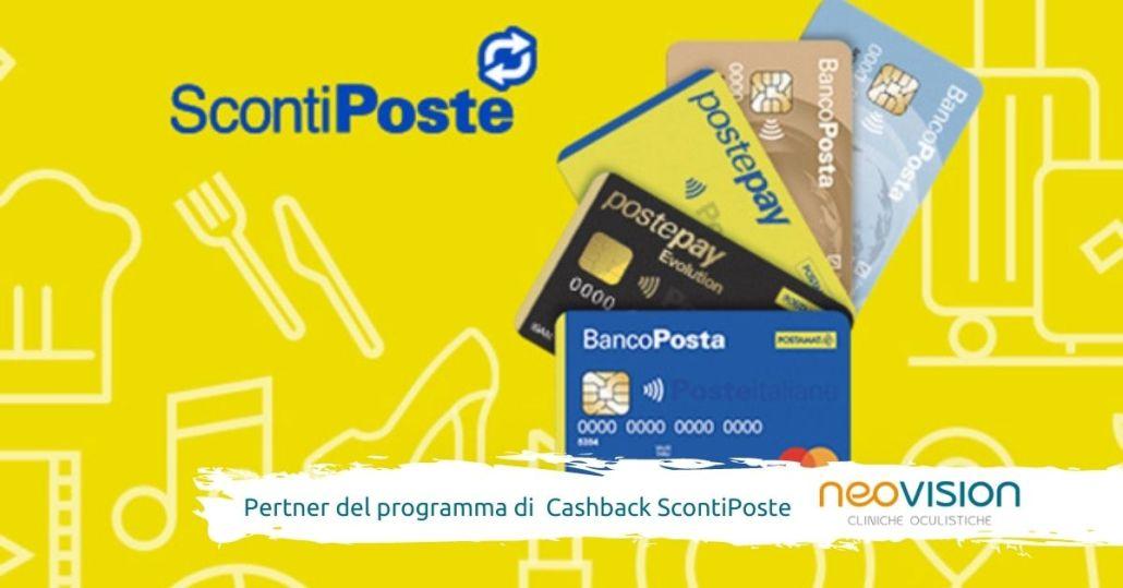 Convenzione Oculista Cashback ScontiPoste - Poste Italiane - Blue Assistance