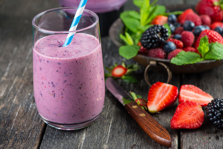 Fruit Smoothie on Table