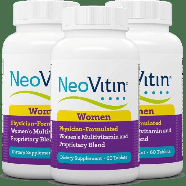 NeoVitin Womens Botle 3 Pack