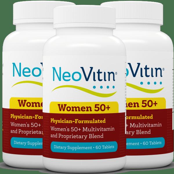 Neovitin Womens 50 Plus 3 Pack