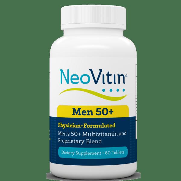 NeoVitin Mens 50 Plus Multivitamin Bottle Front
