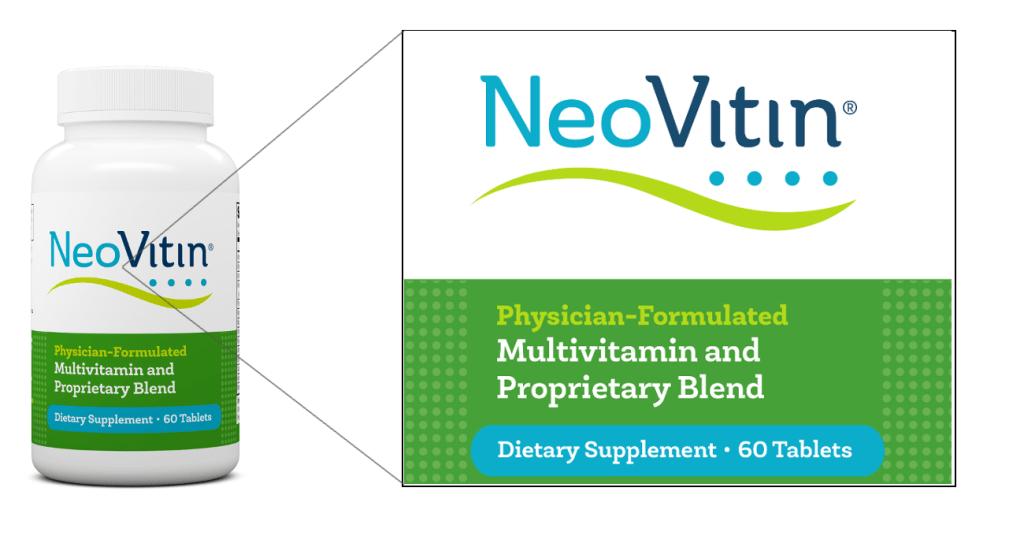 NeoVitin Original Formula Multivitamin Front Label