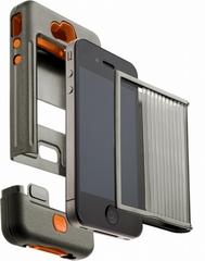 Case-Mate iPhone4 4S ミリタリーグレードケース タンク ミリタリーグリーン オレンジ CM016802