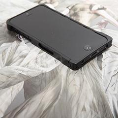 COREMECHATEC MOBiCRAB メタルバンパー for iPhone5(ブラック) RX-IP5MB-BK