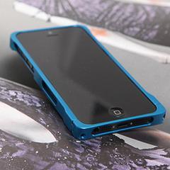 COREMECHATEC MOBiCRAB メタルバンパー for iPhone5(ブルー) RX-IP5MB-BL