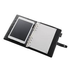クロスパッドiPad mini用システム手帳タイプケース TB-A12STRBK