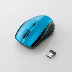 [ELECOM(エレコム)] IRマウス/省エネ/無線/5ボタン/ブルー M-IR02DRBU