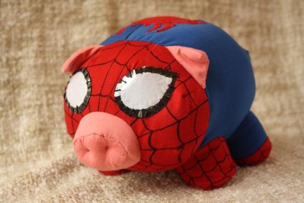 Spider Cochon  il peut grimper au plafond  NeozOne