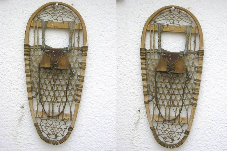 The invention of snowshoes