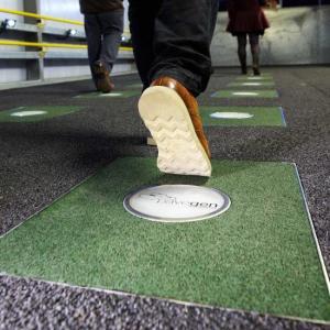 Pavegen Generates Power When You Walk