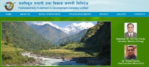 Hydroelectricity Investment & Development Company Limited