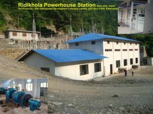 Ridi Khola HEP Powerhouse