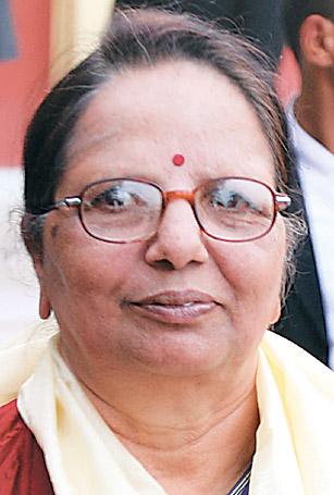 Minister for Energy, Radha Gyawali