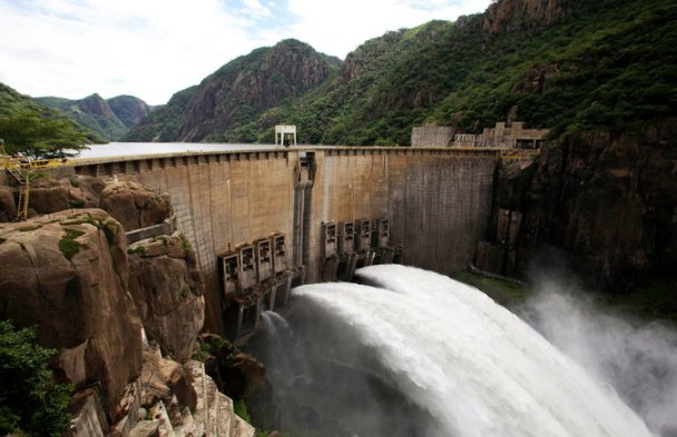 The Cahora Bassa Dam in Mozambique. A 2012 study found that ''emissions from tropical hydropower are often underestimated and can exceed those of fossil fuel for decades.'' Credit Andre Kosters/European Pressphoto Agency