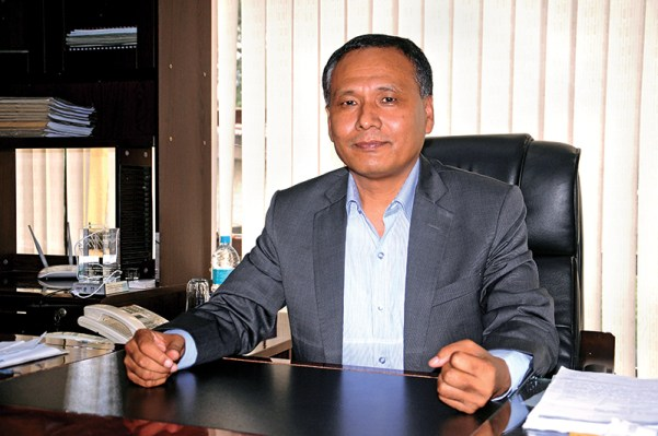 Interview with Kulman Ghising, Managing director of Nepal Electricity Authority at Ratnapark in Kathmandu on Sunday, September 25, 2016. PHOTO: Balkrishna Thapa Chhetri/THT