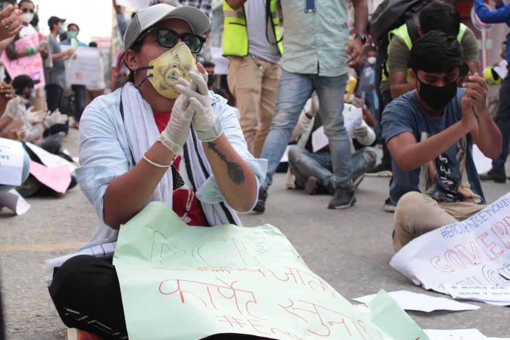birgunj protest 1 1