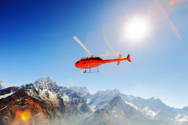 Everest Base Camp Helicopter Price